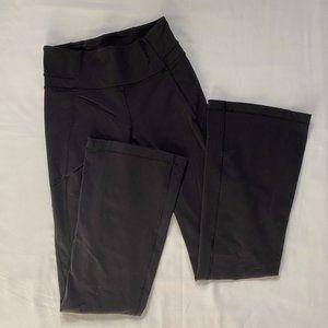 50% OFF Lululemon Black Flare Yoga Pants 8 Long